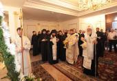 Святейший Патриарх Кирилл освятил здание Синода и духовно-культурного центра Митрополичьего округа в Казахстане