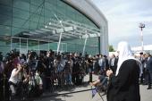 Начался визит Святейшего Патриарха Кирилла в Казахстан