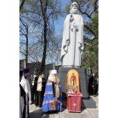 Во Владивостоке освящен памятник преподобному Илии Печерскому (Муромскому)