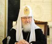 Ответы Святейшего Патриарха Кирилла на вопросы Агентства Республики Казахстан по делам религий для журнала «Государство и религия»
