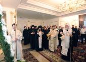Святейший Патриарх Кирилл совершил освящение здания Синода и духовно-культурного центра Митрополичьего округа в Казахстане