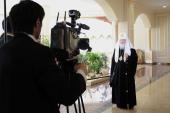 Интервью Святейшего Патриарха Кирилла по итогам встречи с Президентом Республики Казахстан Н.А. Назарбаевым