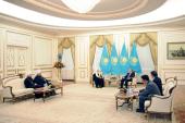 Состоялась встреча Святейшего Патриарха Кирилла с Президентом Республики Казахстан Нурсултаном Назарбаевым