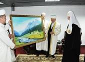 Предстоятель Русской Церкви встретился с Верховным муфтием Казахстана