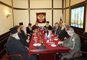 Завершился визит Предстоятеля Элладской Церкви в Москву