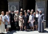 Делегация МДА посетила Тбилисскую духовную академию