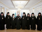 В новопостроенном здании Духовно-культурного центра в столице Казахстана впервые прошло заседание Синода Митрополичьего округа