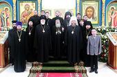 Главный храм Казахстана посетил Патриарх Иерусалимский Феофил III
