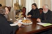 Председатели Отдела религиозного образования и катехизации и Учебного комитета обсудили вопросы разработки Образовательной концепции Русской Православной Церкви