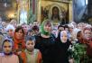 Патриаршее служение в день Святой Троицы в Троице-Сергиевой лавре