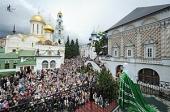 Слово Святейшего Патриарха Кирилла с балкона Патриарших покоев Троице-Сергиевой лавры в день Святой Троицы