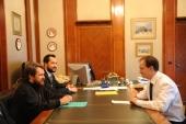 Состоялась встреча председателя Отдела внешних церковных связей с министром культуры России