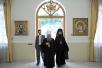 Заседание Священного Синода в Патриаршем и Синодальном духовно-административном и культурном центре Русской Православной Церкви