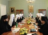 ЖУРНАЛЫ заседания Священного Синода от 6-7 июня 2012 года