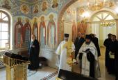 Участники заседания Священного Синода молитвенно почтили память архиепископа Гомельского Аристарха