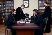 Заключен договор о сотрудничестве между Санкт-Петербургскими духовными школами и Пятигорской епархией