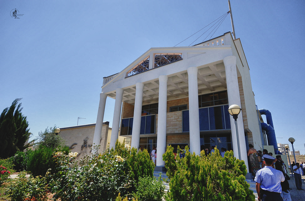 Первосвятительский визит в Кипрскую Православную Церковь. Посещение культурного центра г. Фамагусты