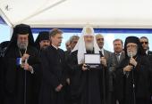 В ходе визита в Кипрскую Церковь Святейший Патриарх Кирилл посетил Константийскую митрополию