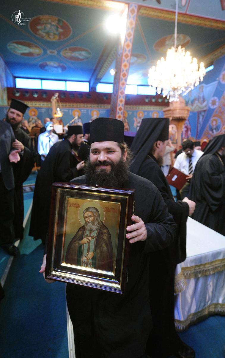 Первосвятительский визит в Кипрскую Православную Церковь. Божественная литургия в храме св. апостола Варнавы в Дасуполисе
