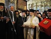 Частица мощей святого Лазаря Четверодневного передана в дар Русской Православной Церкви