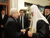 Предстоятель Русской Церкви встретился с Президентом Республики Кипр