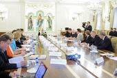 Предстоятель Русской Церкви возглавил первое заседание Попечительского совета Новоспасского ставропигиального монастыря