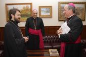 Председатель Отдела внешних церковных связей встретился с президентом Папской Академии наук
