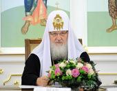 Выступление Святейшего Патриарха Кирилла на первом заседании Попечительского совета Новоспасского монастыря