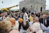 Освящение закладного камня на месте строительства храма в честь св. Александра Невского в Зеленограде