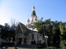 Храм свт. Николая Чудотворца. Представительство при Патриархе Болгарском