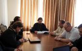 В МДА обсудили вопросы создания нормативной документации для высших духовных учебных заведений Русской Православной Церкви