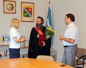 Архиепископ Наро-Фоминский Юстиниан стал Почетным гражданином столицы Гагаузской автономии