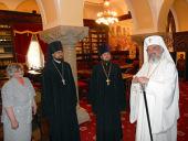 Delegaţia Departamentului pentru relaţii externe bisericeşti al Patriarhiei Moscovei s-a întâlnit cu Patriarhul României