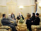 Состоялась встреча Святейшего Патриарха Кирилла с Генеральным секретарем Всемирной организации по сближению мазхабов аятоллой Мухаммадом Али Тасхири