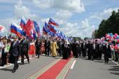 Святейший Патриарх Кирилл прибыл в Брянск