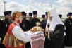 Прибытие Святейшего Патриарха Кирилла в Брянск (фото администрации Брянской области)