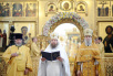 Чин великого освящения Троицкого кафедрального собора г. Брянска и Божественная литургия в новоосвященном храме.