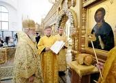 Предстоятель Русской Церкви совершил чин великого освящения Троицкого кафедрального собора в Брянске и возглавил хиротонию архимандрита Никона (Фомина) во епископа Шуйского и Тейковского