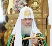 Слово Святейшего Патриарха Кирилла после Божественной литургии в Свято-Троицком кафедральном соборе г. Брянска