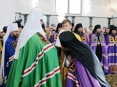 Слово Святейшего Патриарха Кирилла при вручении архиерейского жезла Преосвященному Никону (Фомину), епископу Шуйскому и Тейковскому