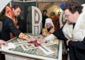 Предстоятель Украинской Православной Церкви совершил освящение храма великомученика Димитрия Солунского в Свято-Введенском мужском монастыре Киева