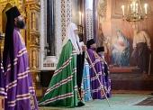 Проповедь Святейшего Патриарха Кирилла в день памяти святых благоверных Петра и Февронии в Храме Христа Спасителя
