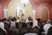 Встреча Святейшего Патриарха Кирилла с молодежной делегацией Русской Православной Церкви Заграницей