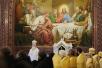 Божественная литургия в Храме Христа Спасителя в день памяти святых благоверных Петра и Февронии. Хиротония архимандрита Илариона (Кайгородцева) во епископа Кинешемского и Палехского