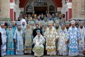 Предстоятель Украинской Православной Церкви молитвенно отметил 46-ю годовщину своей архиерейской хиротонии
