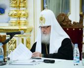 Предстоятель Русской Церкви возглавил заседание Попечительского совета по восстановлению Валаамской обители