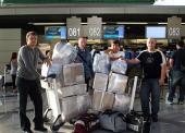 Вторая группа координаторов от Синодального отдела по социальному служению вылетела на место кубанской трагедии