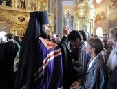 Слово Святейшего Патриарха Кирилла при вручении архиерейского жезла Преосвященному Мефодию (Зайцеву), епископу Альметьевскому и Бугульминскому