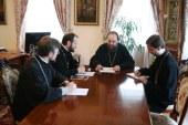Управляющий делами Украинской Православной Церкви встретился с представителем Московского Патриархата в Совете Европы