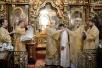 Служение Святейшего Патриарха Кирилла в храме свв. апп. Петра и Павла в Лефортове. Хиротония архимандрита Петра (Мансурова) во епископа Калачинского и Муромцевского